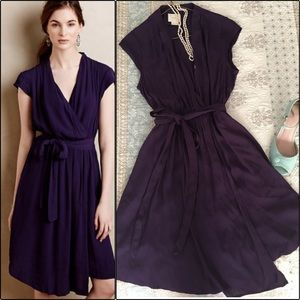 Mauve (Anthropologie) Dress